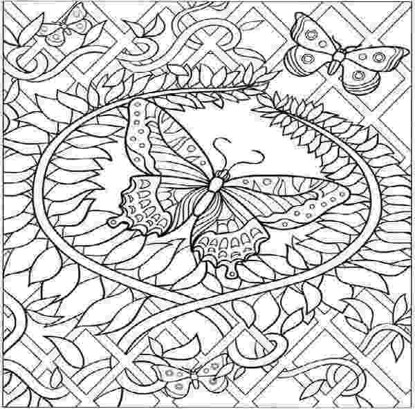 challenging coloring sheets challenging free printable coloring pages hard butterfly challenging sheets coloring