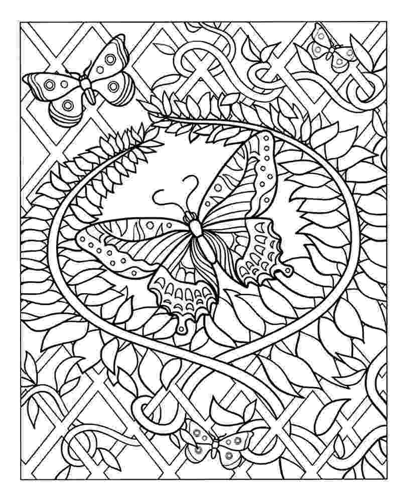 challenging coloring sheets free difficult coloring pages for adults sheets coloring challenging
