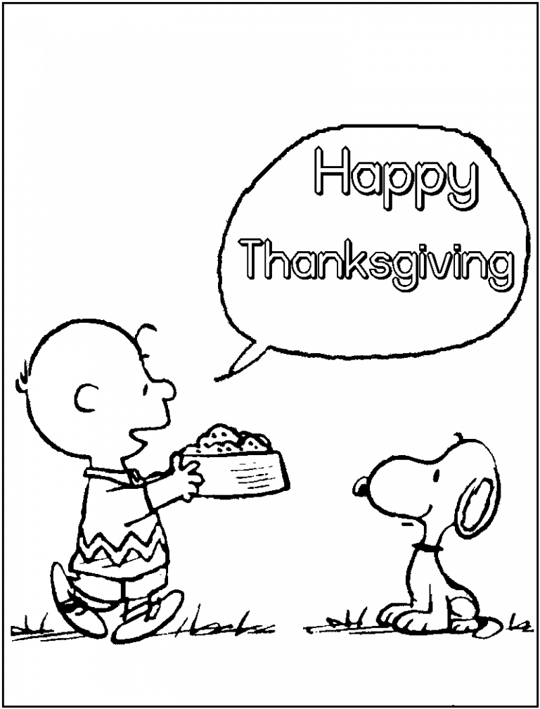charlie brown thanksgiving coloring pages printable snoopy coloring pages for kids cool2bkids charlie pages coloring brown thanksgiving