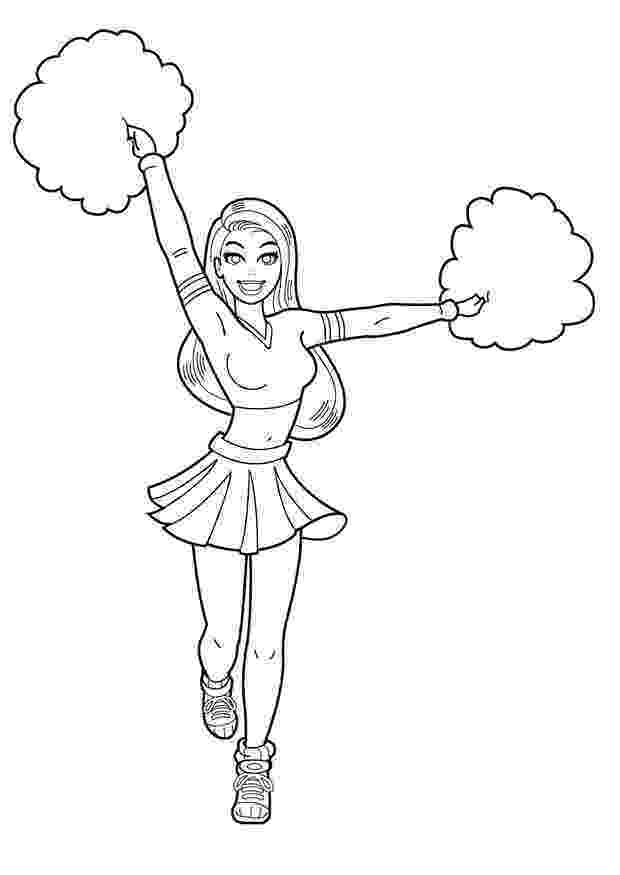 cheer coloring pages cheerleading coloring pages birthday printable cheer coloring pages