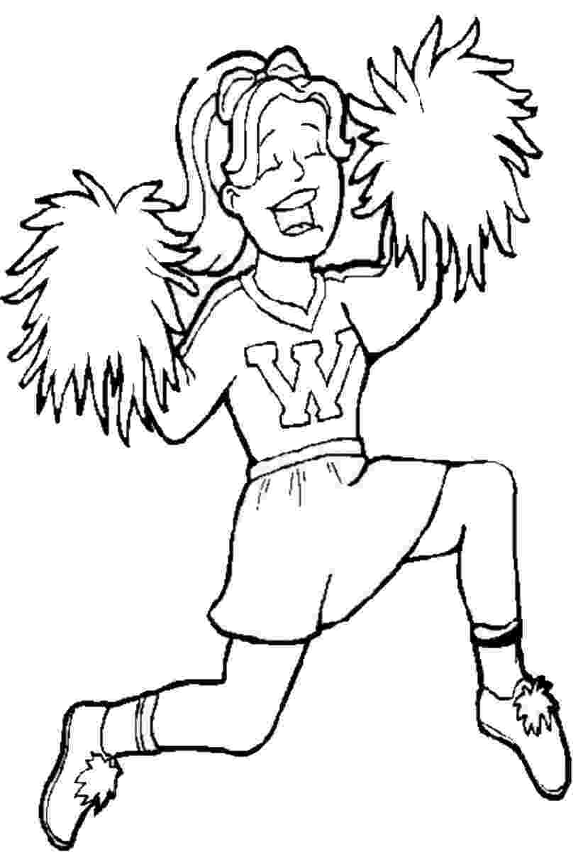 cheer coloring pages cheerleading free colouring pages coloring pages cheer
