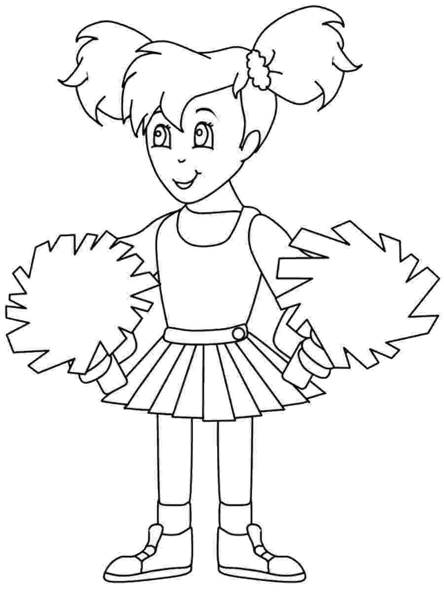 cheer coloring pages free printable cheerleading coloring pages for kids cheer pages coloring