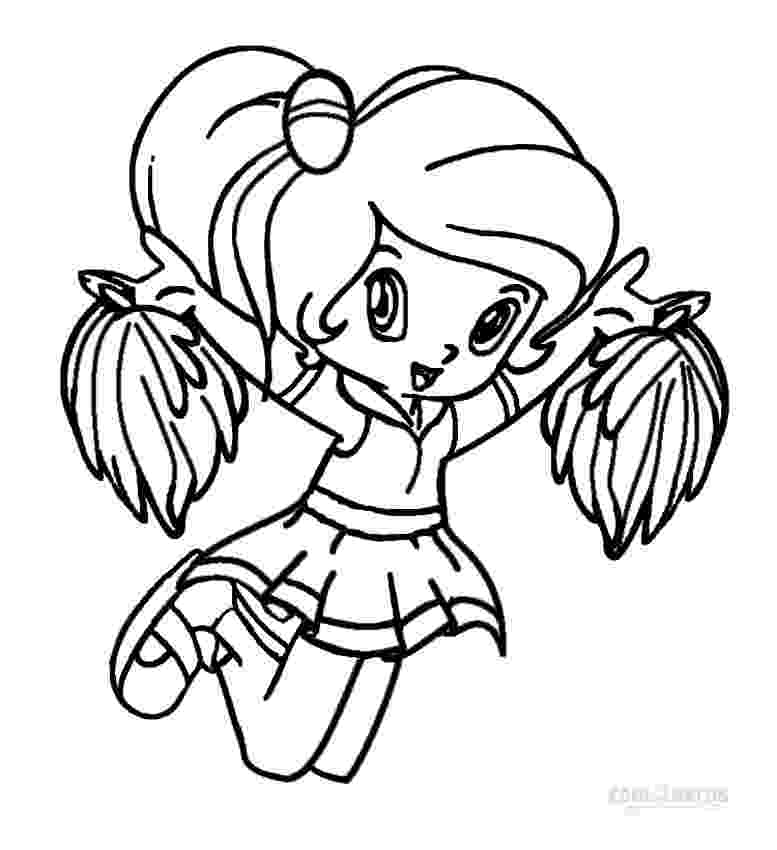 cheerleader coloring pages printable cheerleading coloring pages for kids cool2bkids coloring pages cheerleader