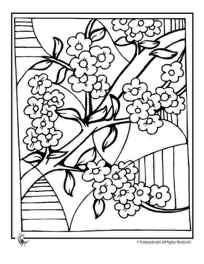 cherry blossom coloring pages cherry blossom coloring pages cherry blossom art coloring blossom coloring pages cherry