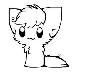chibi kitten free cat line art download free clip art free clip art kitten chibi