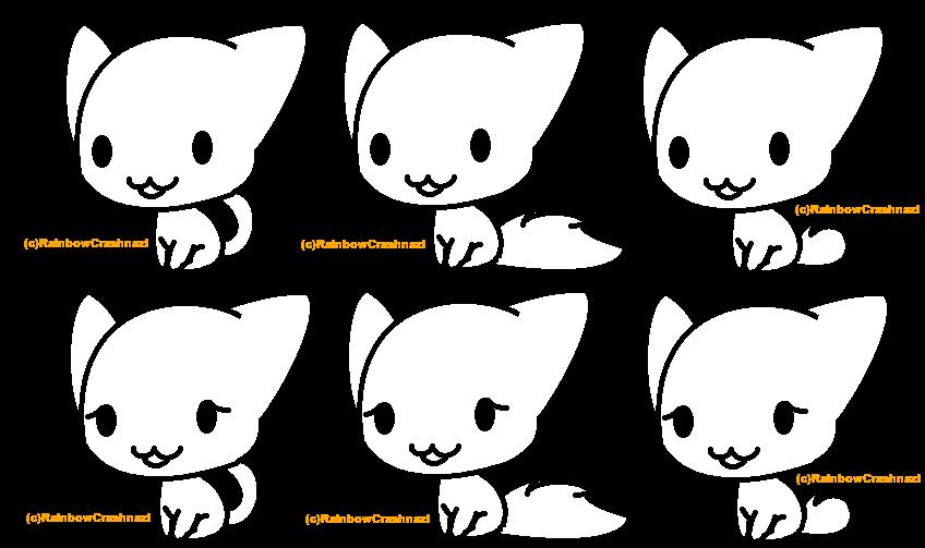chibi kitten free chibi cat adoptables artists writers and graphic chibi kitten