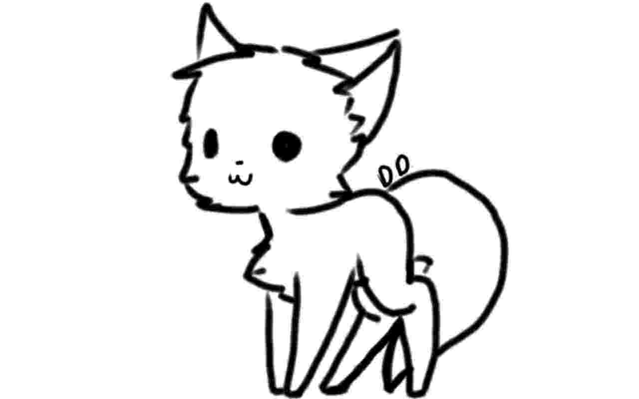 chibi kitten how to draw chibi cat drawingforallnet kitten chibi