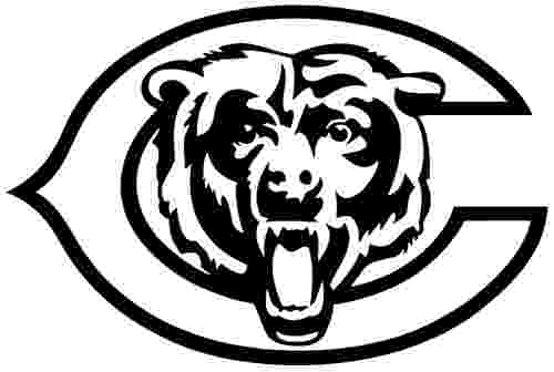 chicago bears coloring pages chicago bears vector clipart best coloring chicago pages bears