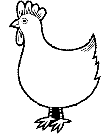 chicken pictures to colour chicken chicks with animals to colour pictures chicken