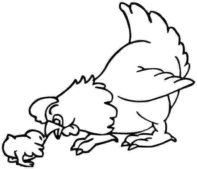 chicken pictures to colour chicken flapping wings coloring page free printable colour to pictures chicken