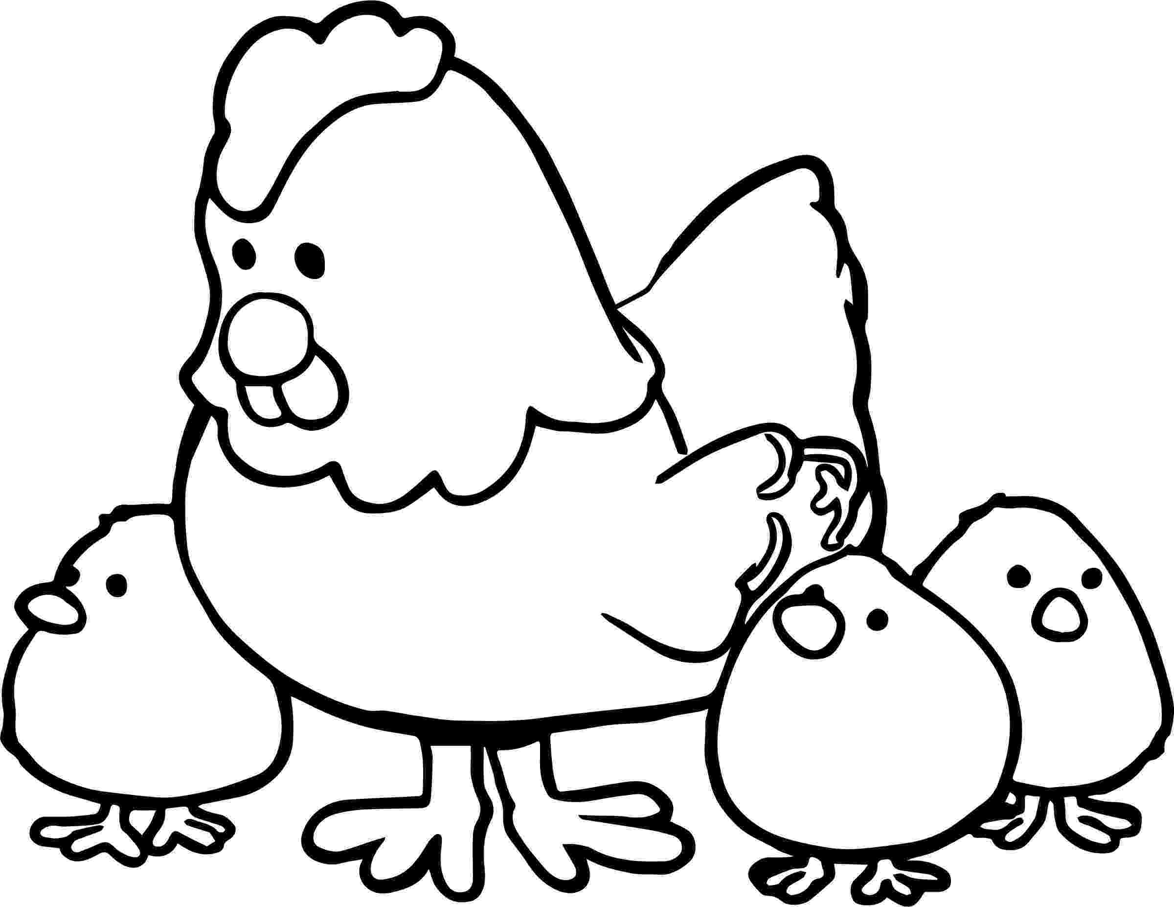 chicken pictures to colour easter coloring pages easter chick coloring pages chicken colour pictures to