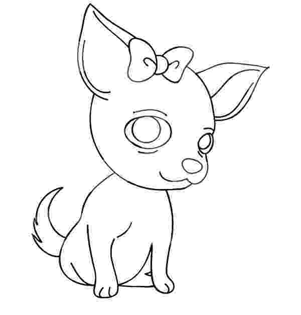 chihuahua colouring pages art of chihuahua single coloring page pages chihuahua colouring