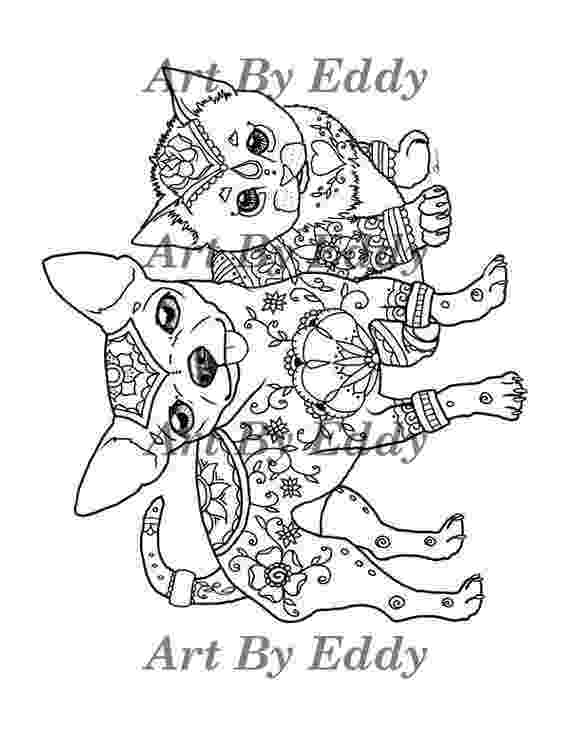 chihuahua colouring pages chihuahua coloring pages hellokidscom chihuahua colouring pages