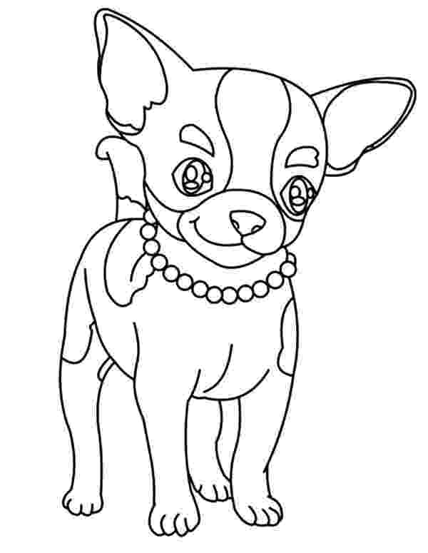 chihuahua colouring pages chihuahua dog netart pages colouring chihuahua