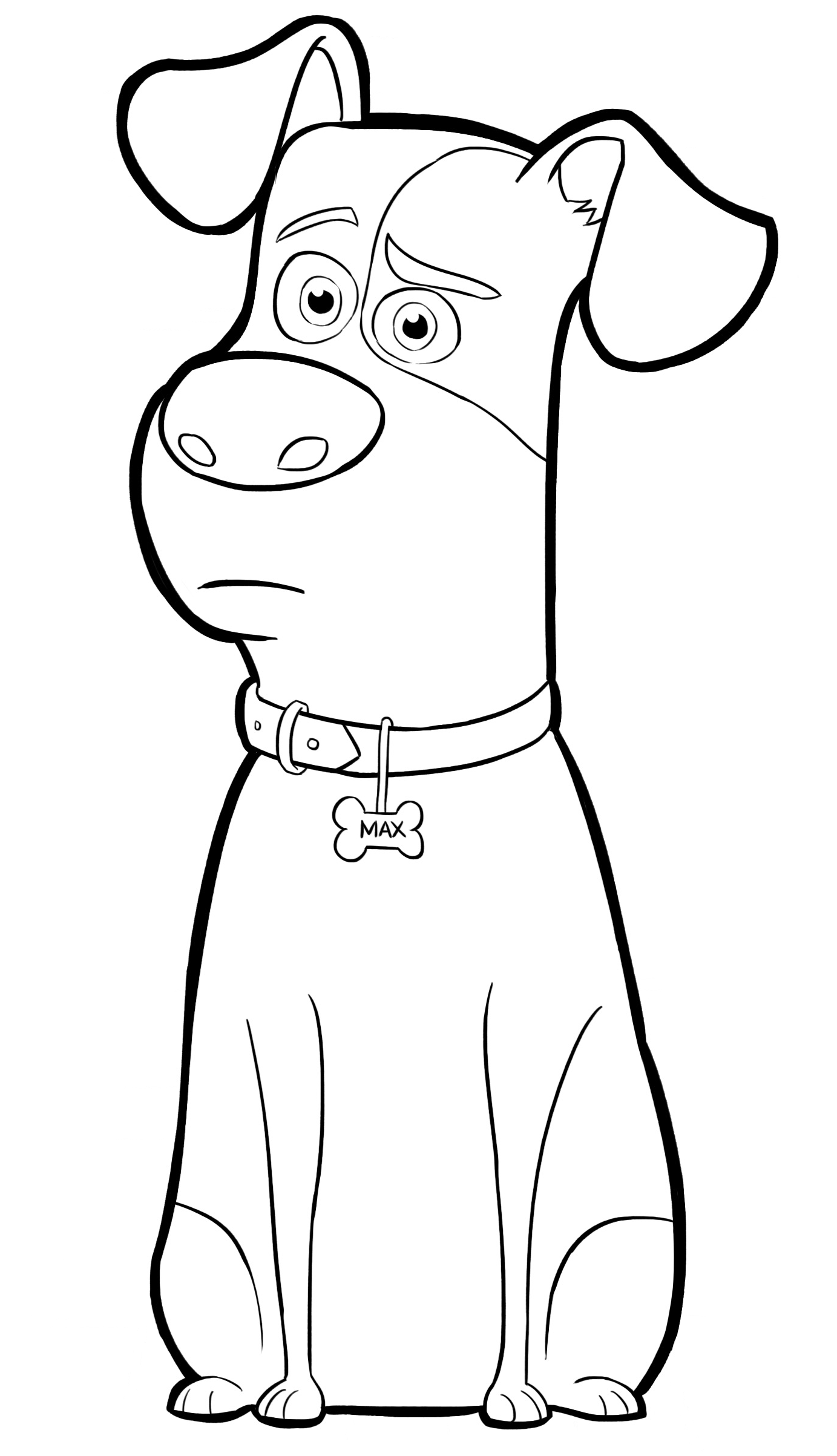 childrens animal colouring books funny dog with bone animal coloring page for kids animal books childrens colouring animal