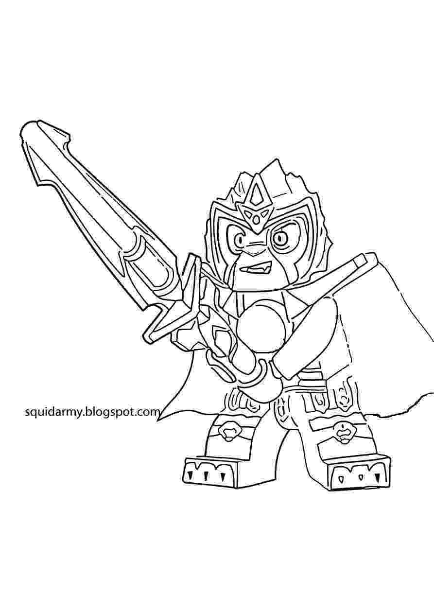 chima coloring sheets lego chima coloring pages laval the lions squid army sheets coloring chima