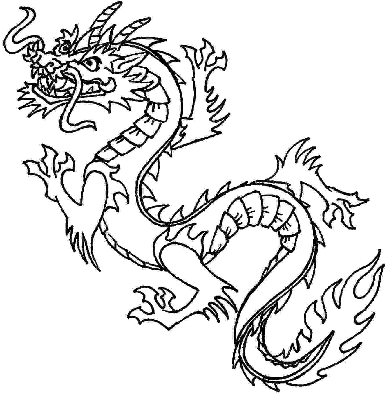 chinese dragon color sheets free printable chinese dragon coloring pages for kids chinese color dragon sheets