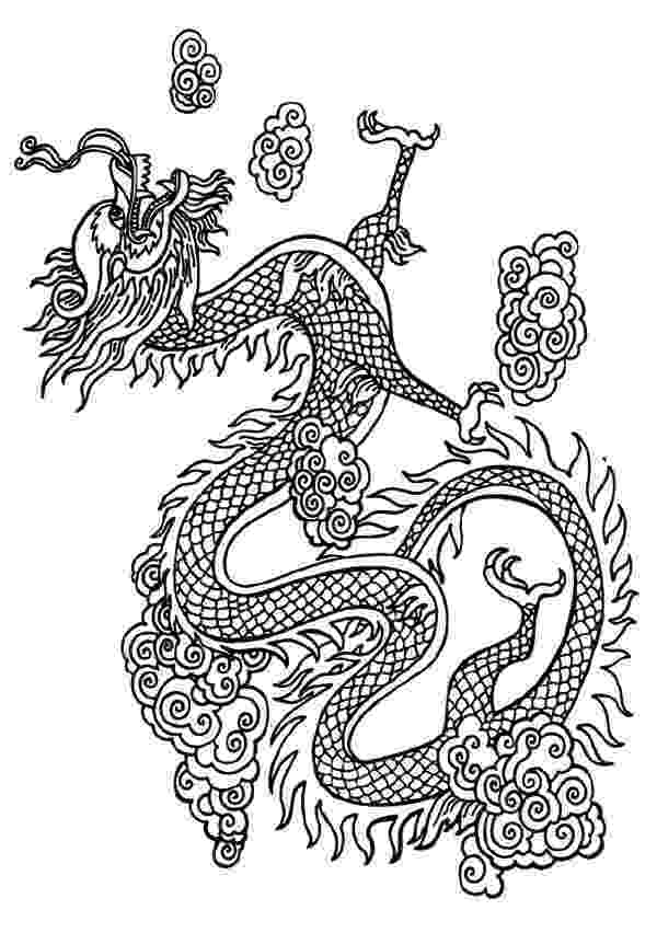 chinese dragon coloring sheet chinese dragon coloring page chinese new year asian sheet dragon coloring chinese