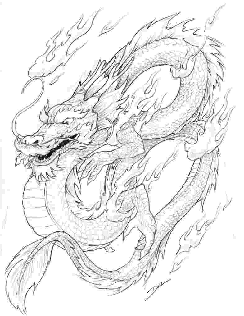 chinese dragon coloring sheet complex dragon coloring pages at getcoloringscom free sheet chinese coloring dragon