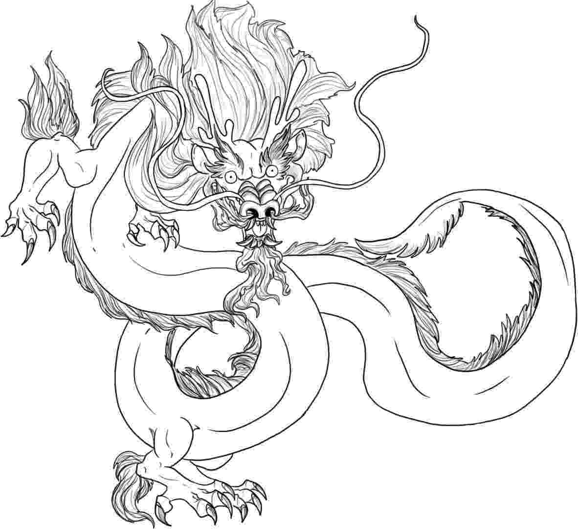 chinese dragon coloring sheet free printable chinese dragon coloring pages for kids dragon sheet chinese coloring 1 1