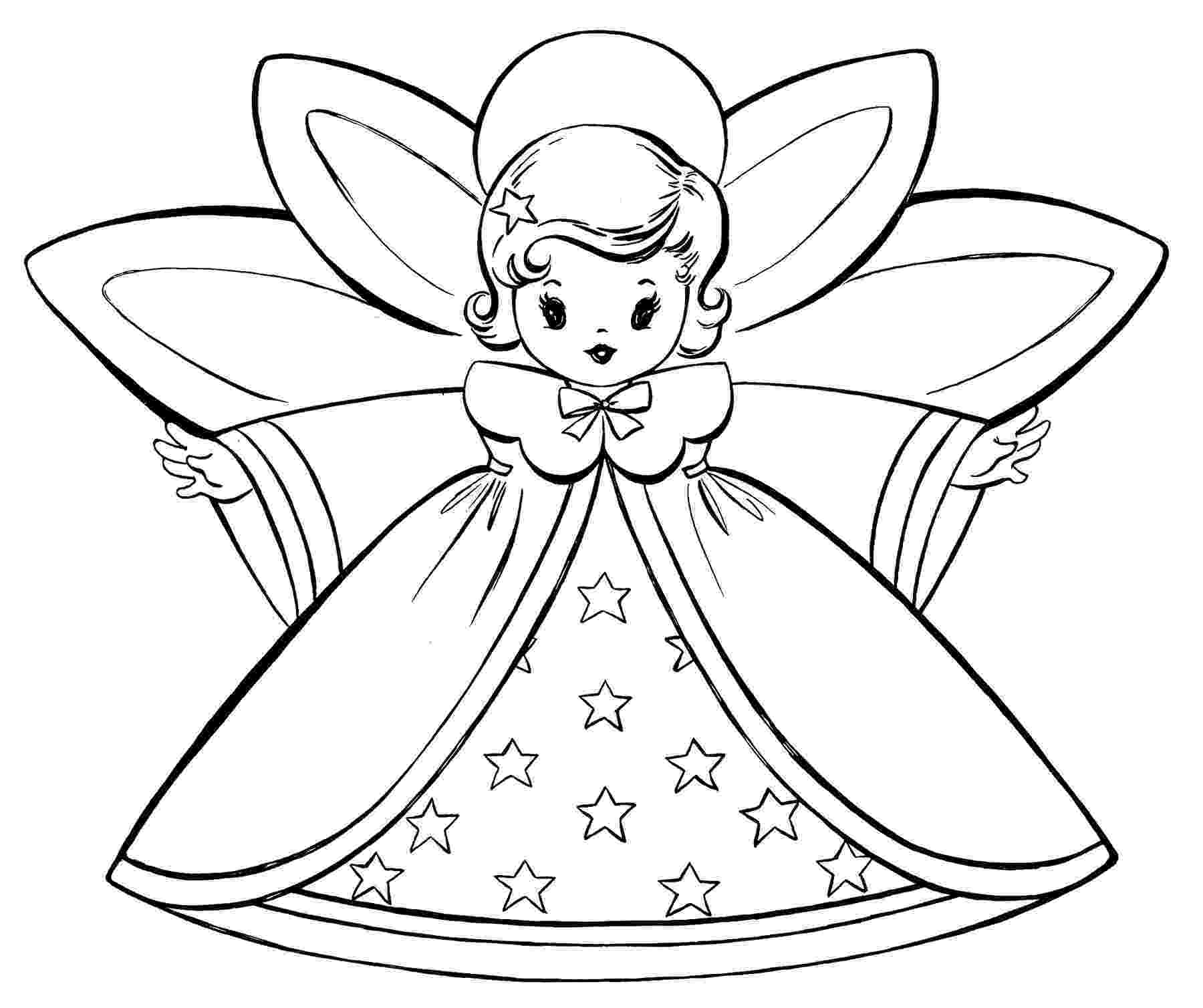 christmas angels to color coloring pages on pinterest bible coloring pages fall to angels color christmas