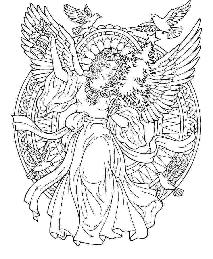 christmas angels to color free images of christmas angels download free clip art angels to color christmas
