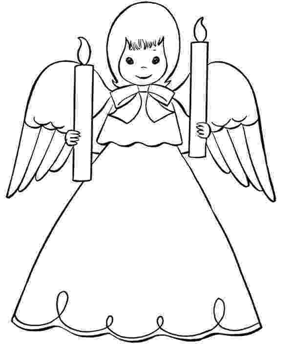 christmas angels to color free printable angel coloring pages for kids angels to color christmas