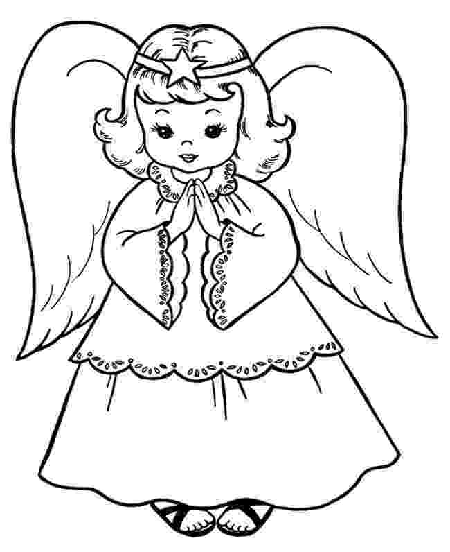 christmas angels to color religious christmas coloring pages getcoloringpagescom christmas to angels color
