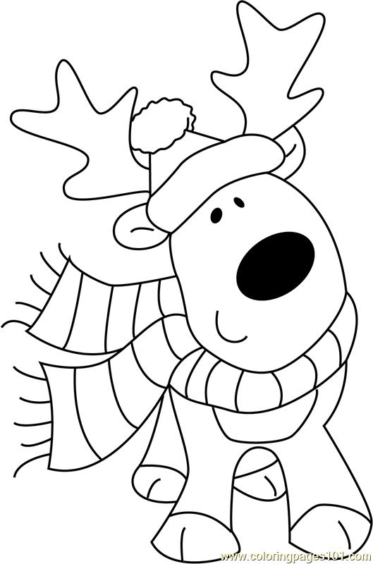 christmas animals cute animal christmas coloring pages download and print christmas animals