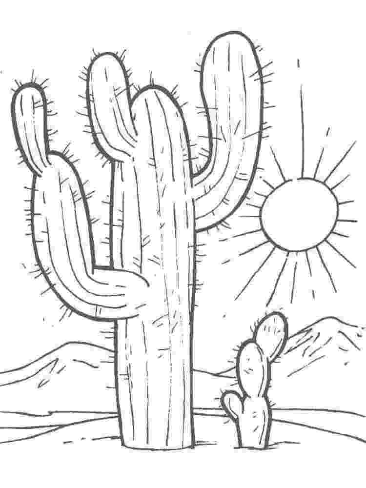 christmas cactus coloring page christmas cactus drawing at getdrawingscom free for coloring cactus page christmas