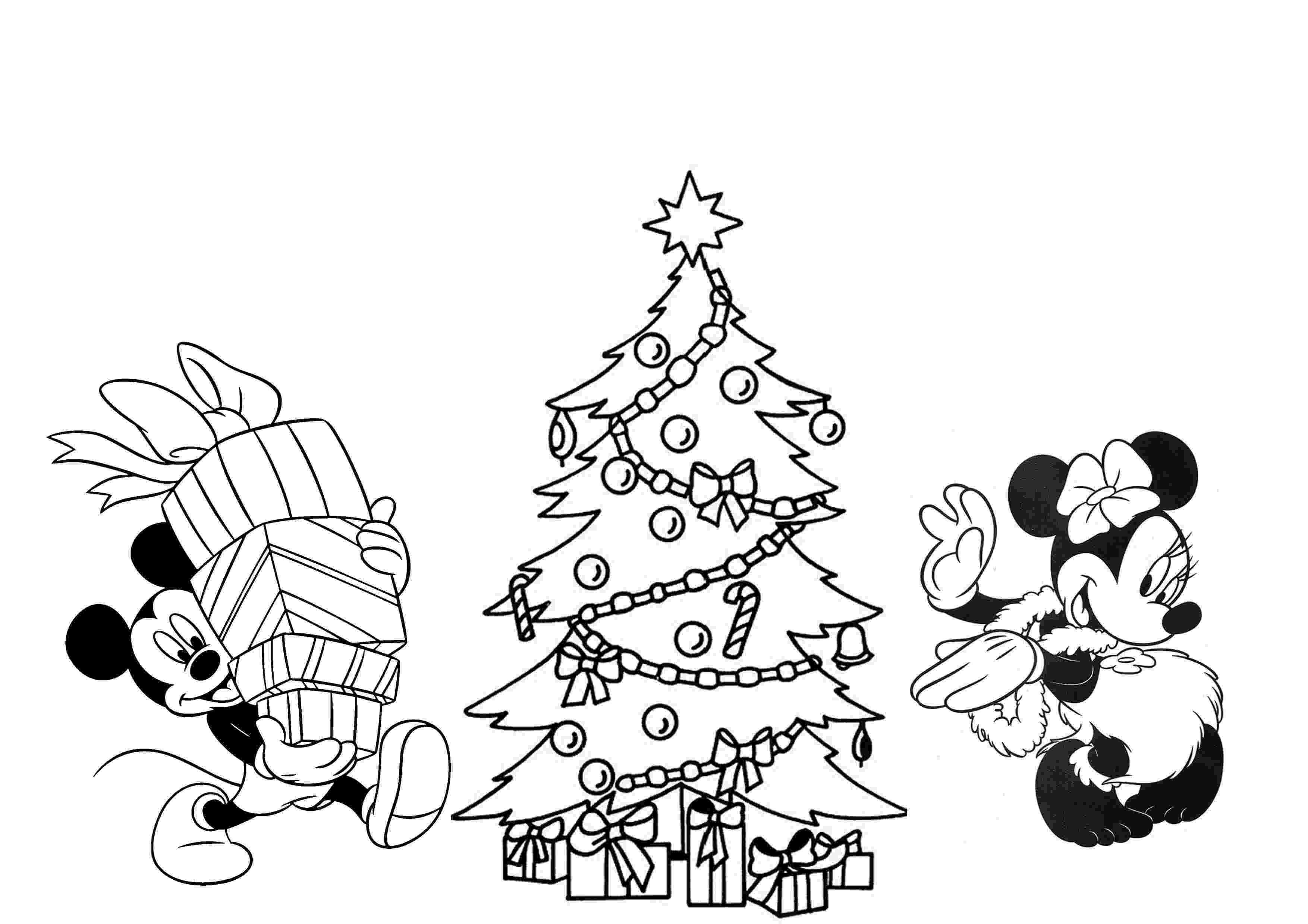 christmas coloring christmas tree coloring pages for childrens printable for free coloring christmas