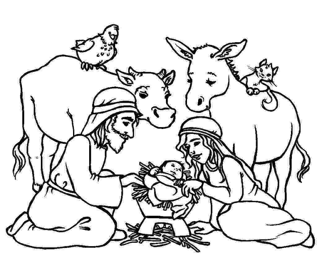 christmas coloring religious 9 best nativity images on pinterest christmas nativity religious christmas coloring