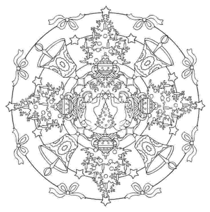 christmas mandala coloring pages 1000 images about coloring pages on pinterest coloring christmas coloring pages mandala