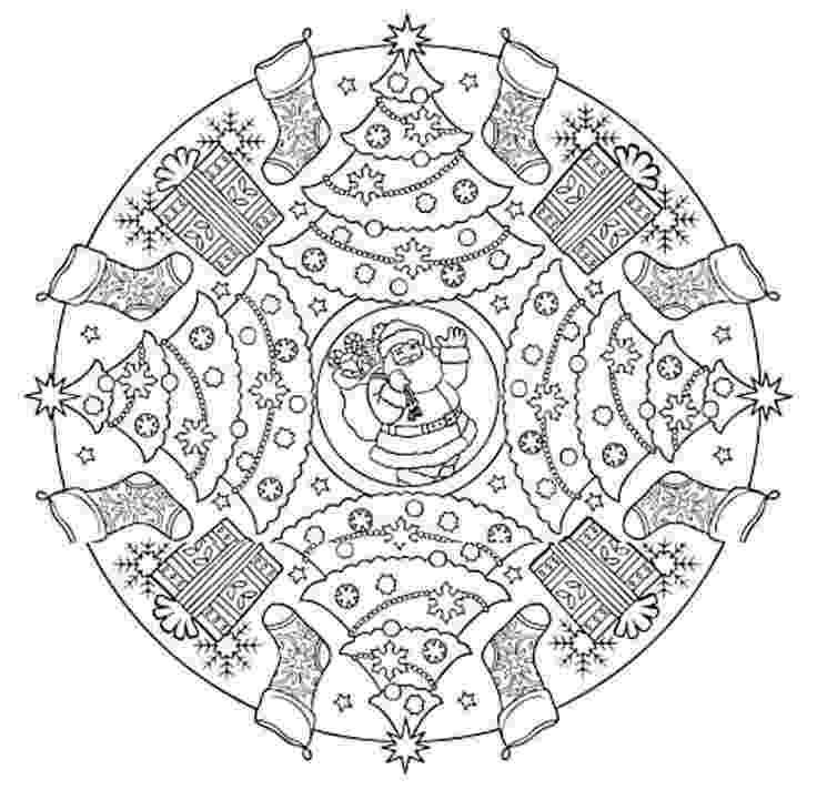 christmas mandala coloring pages 1380 best images about színezők felaladatlapok tél coloring pages christmas mandala