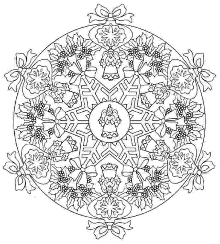 christmas mandala coloring pages 83 best coloring christmas mandalas wreaths images on pages coloring mandala christmas