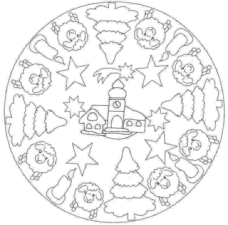 christmas mandala coloring pages 92 best images about mandala christmas winter on pinterest mandala pages coloring christmas
