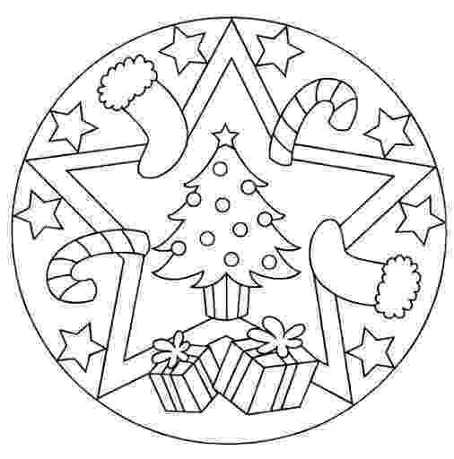christmas mandala coloring pages christmas mandala coloring page for kids crafts and coloring mandala christmas pages