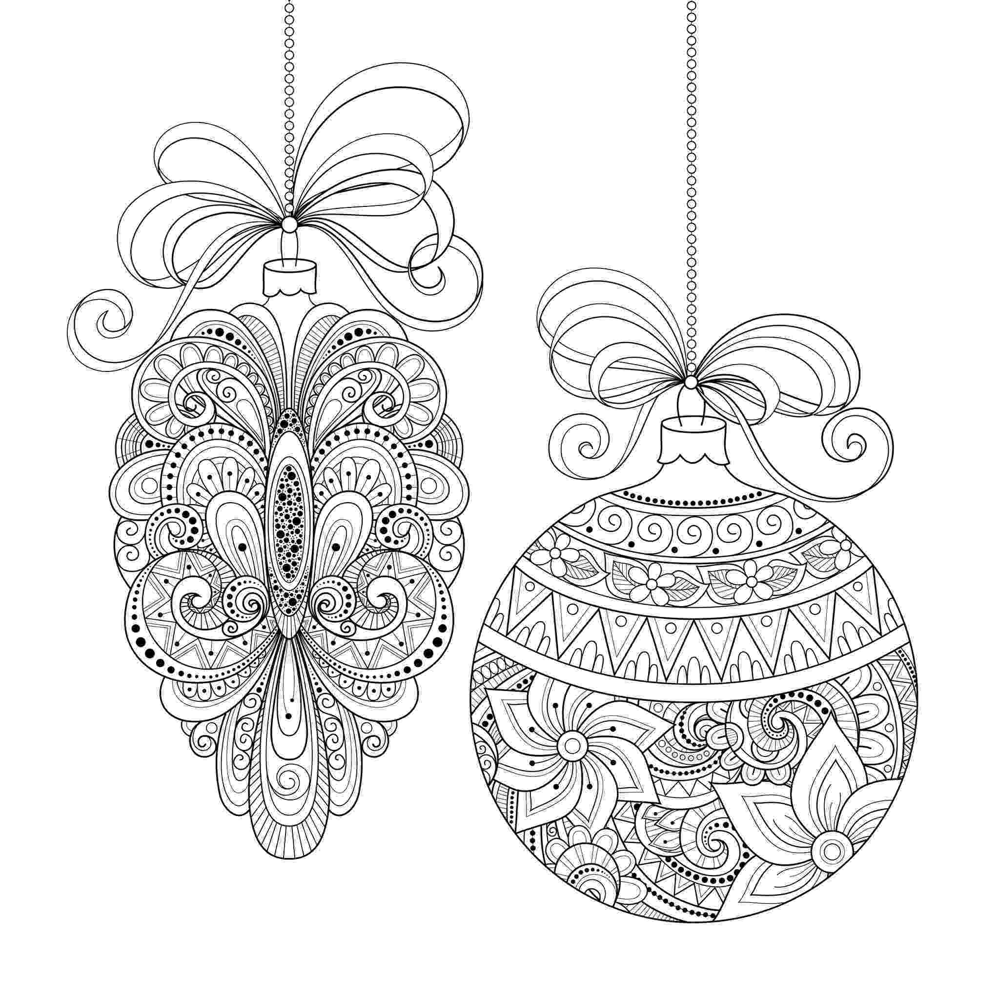 christmas ornament coloring pages 30 cheerful printable christmas ornaments kittybabylovecom christmas coloring ornament pages