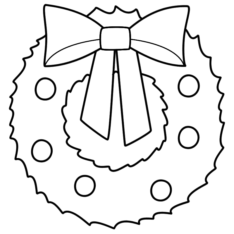 christmas wreath coloring page christmas wreath coloring page christmas coloring christmas wreath coloring page