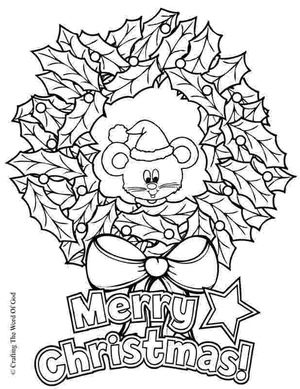 christmas wreath coloring page christmas wreath coloring page crafting the word of god coloring christmas wreath page