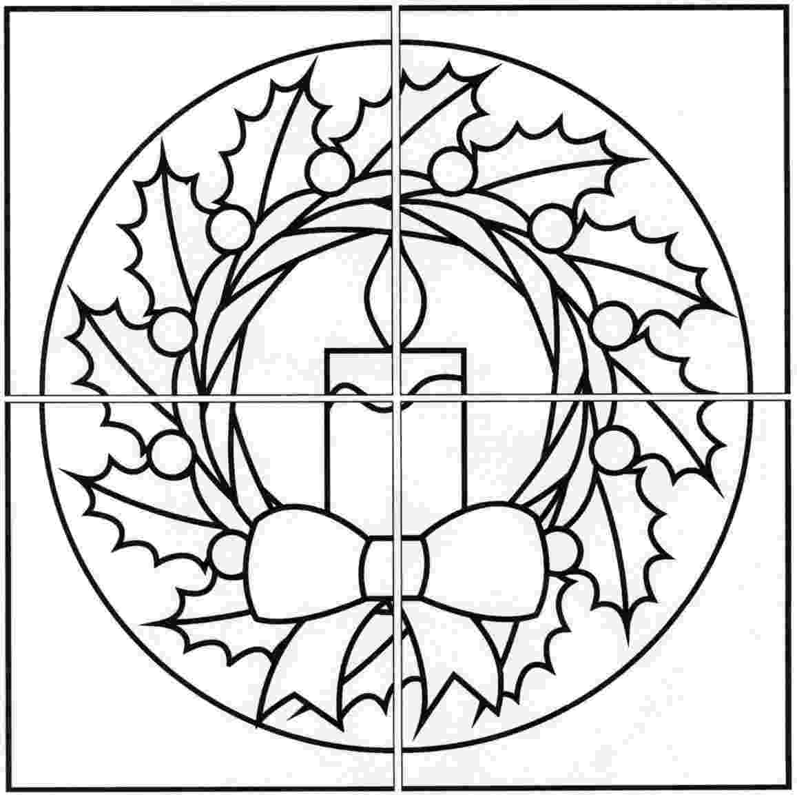 christmas wreath coloring page coloring pages wreaths coloring pages free and printable christmas wreath page coloring