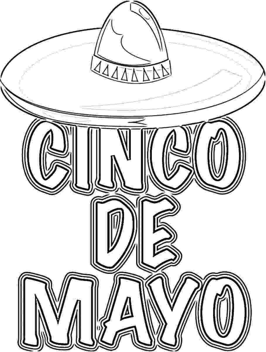 cinco de mayo color pages color the cinco de mayo sombrero worksheet educationcom mayo pages color de cinco