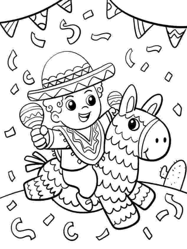 cinco de mayo color pages printable cinco de mayo coloring pages for kids cool2bkids color pages mayo de cinco
