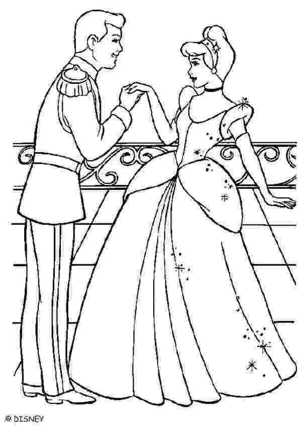 cinderella a4 colouring pages cinderella with the prince charming coloring pages colouring pages cinderella a4