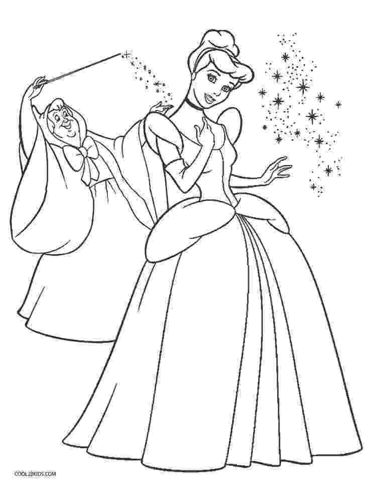 cinderella colouring pages free cinderella coloring pages getcoloringpagescom cinderella colouring free pages