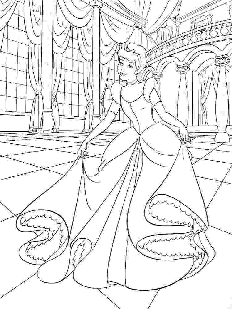 cinderella colouring pages free get this free cinderella coloring pages 46289 cinderella pages free colouring