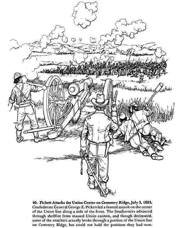 civil war coloring page from antietam to gettysburg a civil war coloring book war coloring page civil