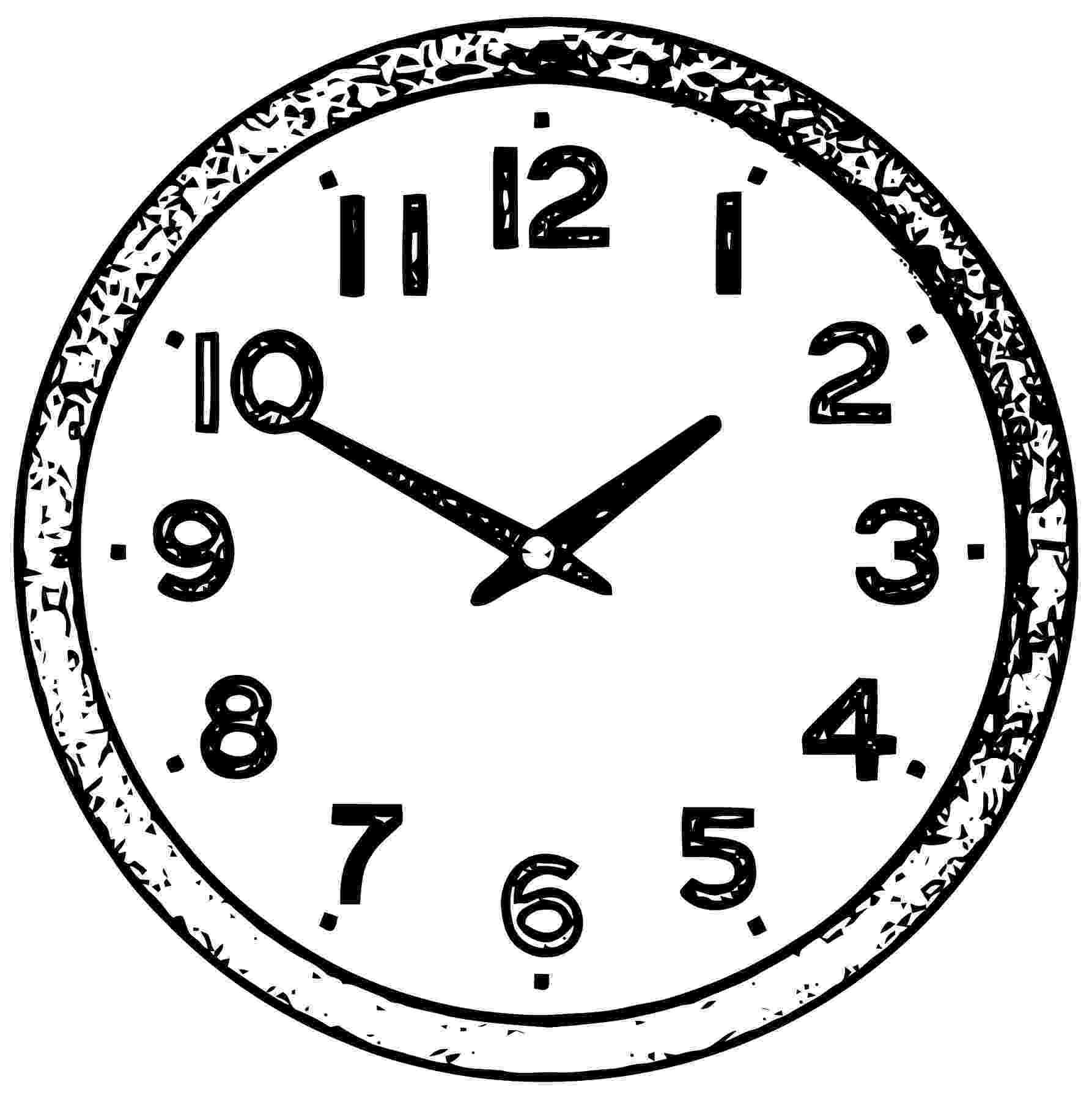 clock coloring page clock coloring pages 360coloringpages clock page coloring