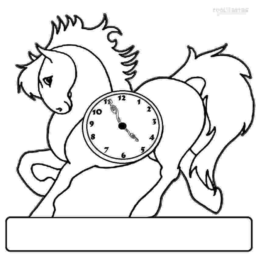 clock coloring page clock coloring pages 360coloringpages clock page coloring 1 1