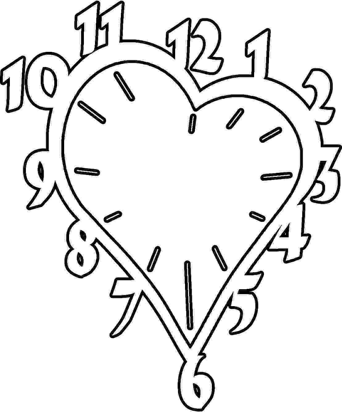 clock coloring page clock coloring pages coloring pages to download and print page coloring clock